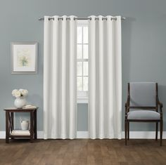 Smart Curtains Ultimate Light Blocker Sheridan 100% Blackout Window Panel
