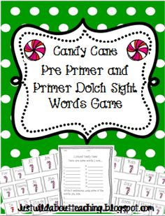 Just Wild About Teaching: Candy Cane Freebie Just for the Holidays!  Free just for tonight!   justwildaboutteaching.blogspot.com