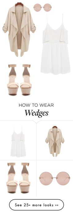 """""""Untitled #479"""" by directioner4ever4ever on Polyvore featuring Linda Farrow, Zara and MANGO"""