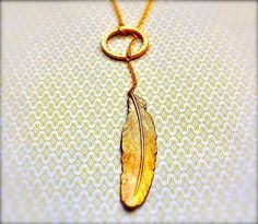 The+Feather+Lariat+by+verabel+on+Etsy,+$32.00