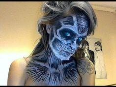 white walkers facepaint - Google Search