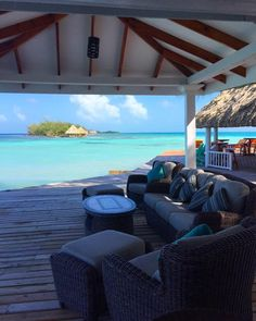 The only thing missing from this picture is you . Belize All Inclusive, All Inclusive Honeymoon, Romantic Honeymoon, Outdoor Furniture Sets, Outdoor Decor, Patio, Island, Pictures, Home Decor