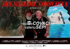 Nicolae Covaci si Valeriu Sepi la Art Gallery ConstantaTomis Mall – Primul Mall din Constanta La Art Galleries, Constanta Romania, Mall, Art Gallery, Art Museum, Template