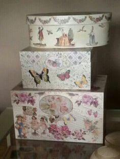 Topaz manualidades Madrid dispone de clases donde podrás aprender a decorar las cajas con todo tipo de técnicas
