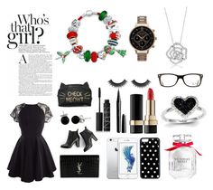 """""""Who's that Girls????"""" by star-mannings on Polyvore featuring Yves Saint Laurent, SWEET MANGO, BERRICLE, Victoria's Secret, Marc Jacobs, Dolce&Gabbana, Kevin Jewelers, Ray-Ban, Olivia Burton and Bling Jewelry"""