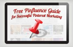 Free Pinfluence Guide for Successful Pinterest Marketing from Beth Hayden, whom I saw speak at Denver WordCamp 2012 - http://www.bethhayden.com/