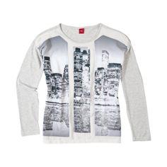 S.Oliver T-shirt lange mouw | Winter collectie | kleertjes.com #Newyork #fashion #kids #kinderkleding #kidsfashion #meisjeskleding #girls #trends