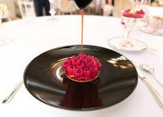 Framboises (Raspberry Tart) at Le Meurice, Paris