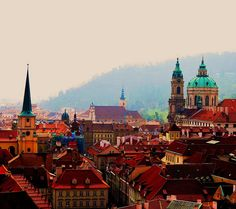 I love Prague! Real life fairy tale land and cheap beer! Prague Tourism and Vacations: 436 Things to do in Prague. Places Around The World, Oh The Places You'll Go, Places To Travel, Europe Centrale, Voyage Europe, Future Travel, Gaudi, Adventure Is Out There, Rio De Janeiro
