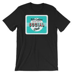 The Fort Collins Over 40 Social Club Meetup - Retro t-shirts – foco designs
