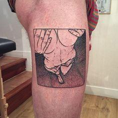 Sad Amish Tattooer.#bondage #bdsm #nude #girl #sex #woman #black #tttism…