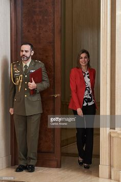 Queen Letizia of Spain attends several audiences at the Zarzuela Palace on January 26, 2016 in Madrid, Spain.