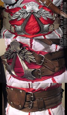 Assassin's creed II - Ezio Cosplay Project: AC 2 complete belt