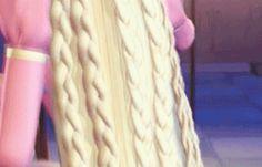 Barbie as Rapunzel Rapunzel Barbie, Princess Rapunzel, Barbie I, Barbie House, Animated Cartoons, Animated Gif, Capas Iphone 6, Barbie Costume, Barbie Movies