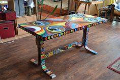 malba na nábytek......jestli se vám libí tak tady je více mé tvorby www.mls-art.cz