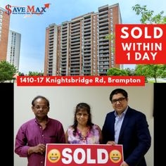 We are Selling Homes & Condos Quickly ! Just Sold Knightsbridge Rd located on Bramalea & Queen Just WITHIN A DAY. Call Us Now at to know what your Home's Worth in Today's Market and let Save Max agents Today's Market, Condos, Real Estate, Homes, Queen, Marketing, Houses, Show Queen, Real Estates