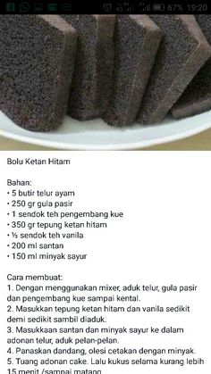 bolu ketan hitam Beard beard for men Halal Recipes, Sweet Recipes, Cake Recipes, Snack Recipes, Dessert Recipes, Cooking Recipes, Marmer Cake, Bolu Cake, Resep Cake