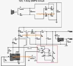 The post discusses how to make a variable voltage SMPS driver circuit, and also the method to modify any SMPS into a variable design Switched Mode Power Supply, Simple Electronics, Electronic Schematics, Circuit Design, Circuit Projects, Ac Power, Variables, Audio System, Alter