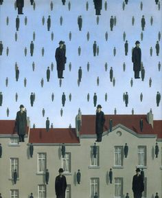 René Magritte – was a Belgian surrealist artist. He became well known for a number of witty and thought-provoking images that fall under the umbrella of surrealism. Magritte's work. Rene Magritte Kunst, Illustration Arte, Kunst Online, Wow Art, Surreal Art, Art Plastique, Oeuvre D'art, Art History, Modern Art