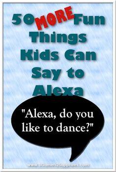 New funny things kids say to parents schools ideas Alexa Dot, Alexa Echo, Echo Echo, Things Kids Say, Things To Ask Siri, Happy Things, Amazon Dot, Amazon Echo, Alexa Tricks