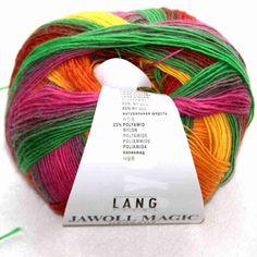 Lang Yarns Giulia 50g Farbe 98 olivgrün  Wolle