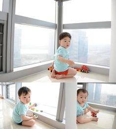 Daehan, Minguk, Manse - Song Il Gook congratulates Song Triplets on their Korean Babies, Asian Babies, Cute Kids, Cute Babies, Baby Kids, Song Il Gook, Triplet Babies, Superman Kids, Man Se