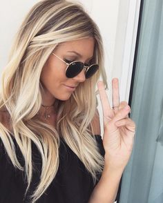 "13k Likes, 264 Comments - halley elefante (@the_salty_blonde) on Instagram: ""Deuces to the hair gods, @neeenaboo (this ashy dimensional color though) and @allieparonellihair…"""