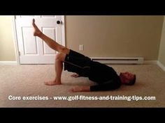 Core Exercises For Golf video