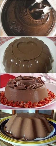 RECEITA DE FLAN DE CHOCOLATE É MUITO FÁCIL DE PREPARAR E DELICIOSO!! VEJA AQUI>>>Bata no liquidificador o leite condensado, o creme de leite, o leite, o #receita#bolo#torta#doce#sobremesa#aniversario#pudim#mousse#pave#Cheesecake#chocolate#confeitaria