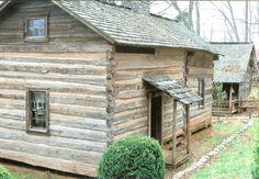 Log cabin Museum of Appalachia TN