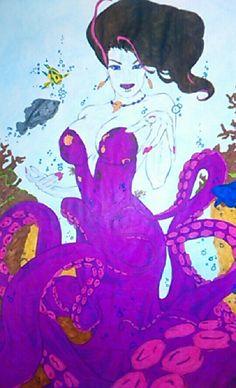 Ursula, la petite sirène