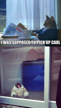 He forgot Carl! IDK why this is so funny. It just is.