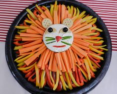 Circus Themed Veggie Platter | Jonesmade Lemonade