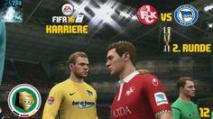 "Let's Play FIFA 16 Trainer Karriere #012 DFB Pokal ""FCK vs Hertha BSC"" [..."