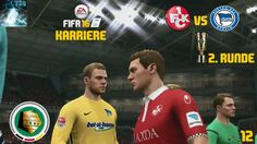 "Let's Play FIFA 16 Trainer Karriere #012 DFB Pokal ""FCK vs Hertha BSC"" [..."