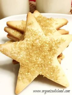 Award Sugar Cookie Recipe Crisp Sugar Cookie Recipe, Sugar Cookies With Sprinkles, Cookie Recipes, Tasty Dishes, Food Dishes, Christmas Sugar Cookies, No Bake Desserts, Holiday Recipes, Sweet Treats