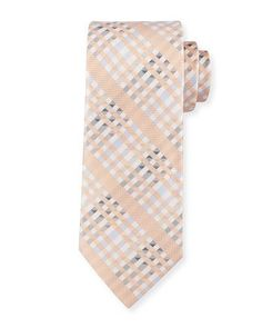 Shop Angy Plaid Silk Tie, Orange from Robert Graham at Neiman Marcus Last Call, where you'll save as much as on designer fashions. Light Peach, Light Orange, Color Palate, Robert Graham, Tie Colors, Last Call, Silk Ties, Neiman Marcus, Plaid