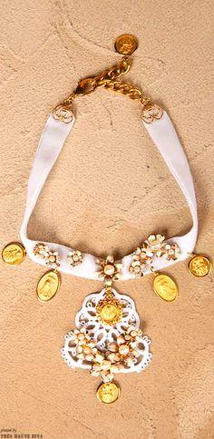 "Dolce & Gabbana ""Cerimonia""  Necklace"