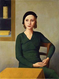 Antonio Donghi: Donna al caffè (Frau im Café), 1931. © 2015 Archivio Fotografico - Fondazione Musei Civici di Venezia.