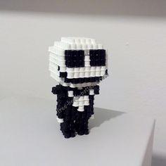 3D Halloween Hama Beads Jack Skellington Nightmare Before Christmas (2)