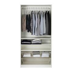 PAX Wardrobe - standard hinges - IKEA £213