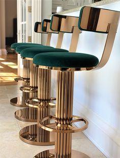 Casa Art Deco, Art Deco Bar, Art Deco Home, Bar Art, Art Deco Style, Art Deco Decor, Art Deco Design, Bar Interior Design, Restaurant Interior Design