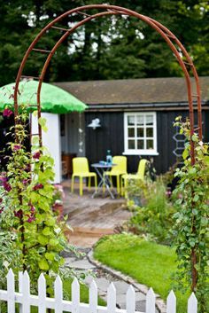 Marianne Lind's Portfolio - Home Arch, Outdoor Structures, Gardening, Ideas, Home, Longbow, Lawn And Garden, Ad Home, Homes