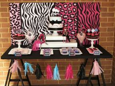 Monster High Birthday Party Ideas | Photo 3 of 11 | Catch My Party