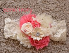 These Large fancy Lace shabby lace headbands are BACK with several new choices!
