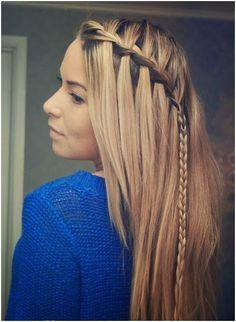 Trendy Ideas Straight Hairstyles Spring cute-braid-ideas-lon
