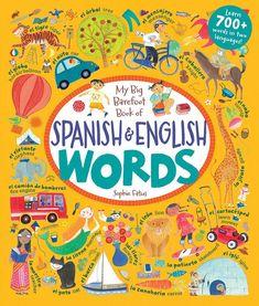 My Big Barefoot Book of Words - Spanish & English