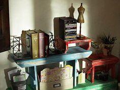 Manualidades y Artesanías | Mueble con bancos | Utilisima.com