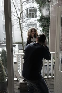 Behind the scenes of KUYICHI's AW14 shoot