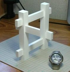 It was very difficult building this. (I bought the watch).